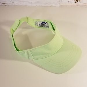 Fahrenheit Fashion lime green visor